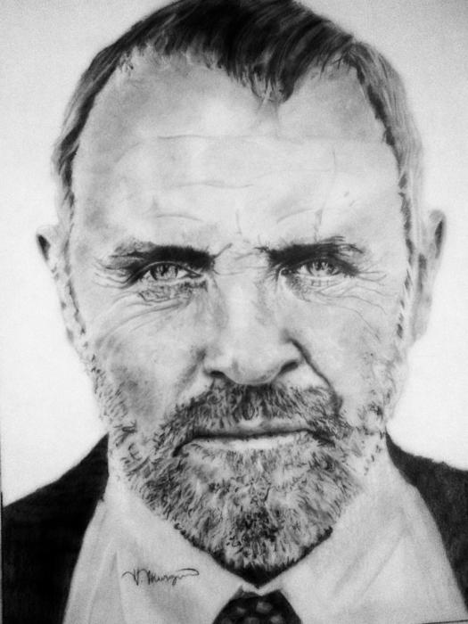 Anthony Hopkins by andromeda9999